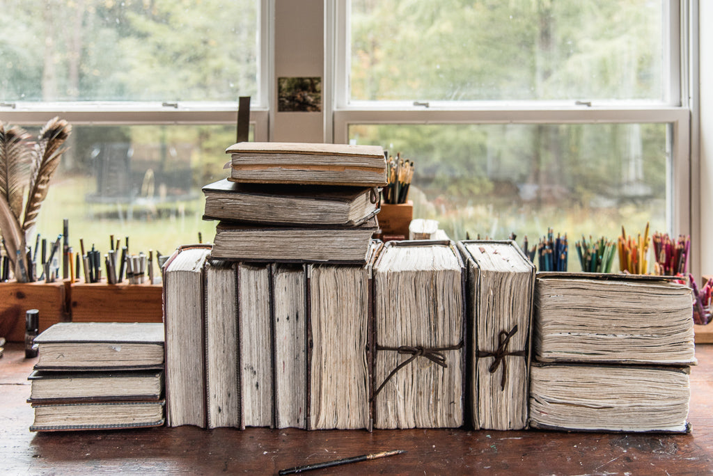 Leather Journals Handmade by Peg and Awl