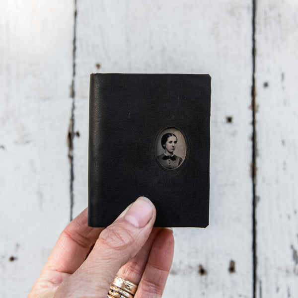 No. 1, Matilda: Mini Hand-Bound Tin Type Journal