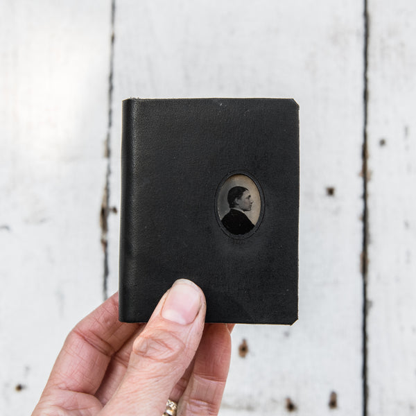 No. 6, Alexander: Mini Hand-Bound Tin Type Journal