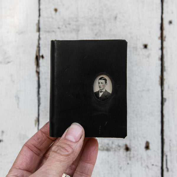 No. 8, Edmund: Mini Hand-Bound Tin Type Journal