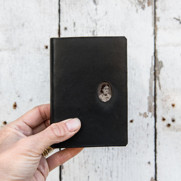 No. 11, Beatriz: Pocket Hand-Bound Tin Type Journal