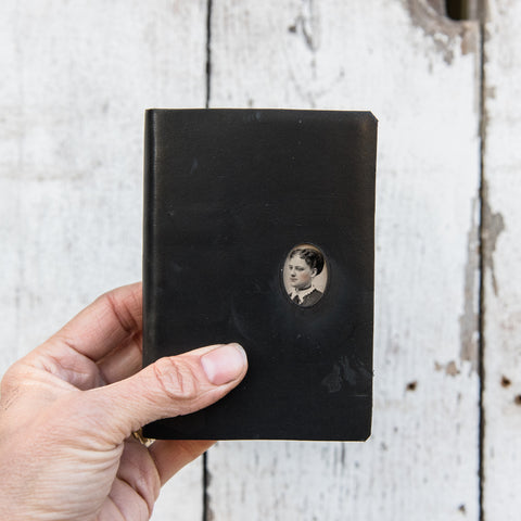 No. 12, Helena: Pocket Hand-Bound Tin Type Journal