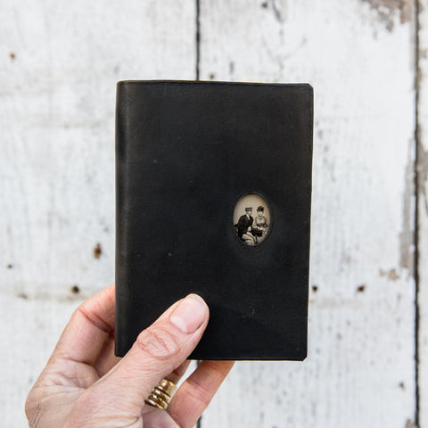 No. 14, Paulo + Dorothy: Pocket Hand-Bound Tin Type Journal