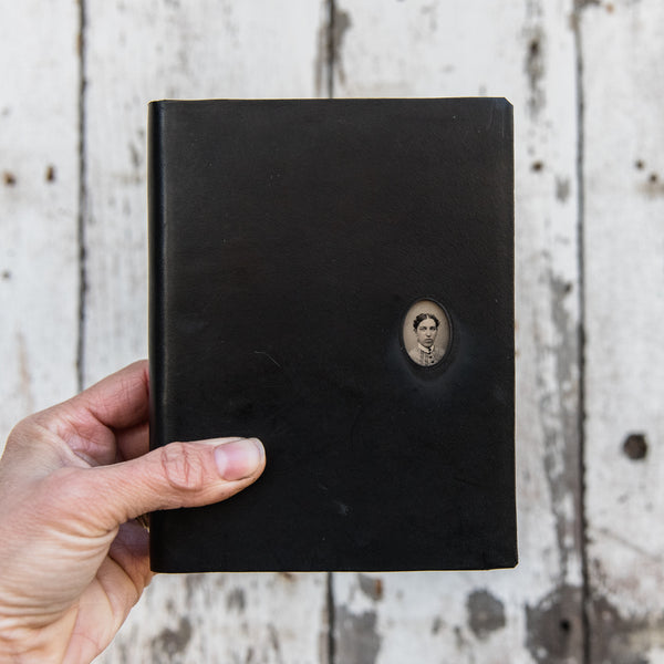 No. 25, Theodosia: Standard Hand-Bound Tin Type Journal