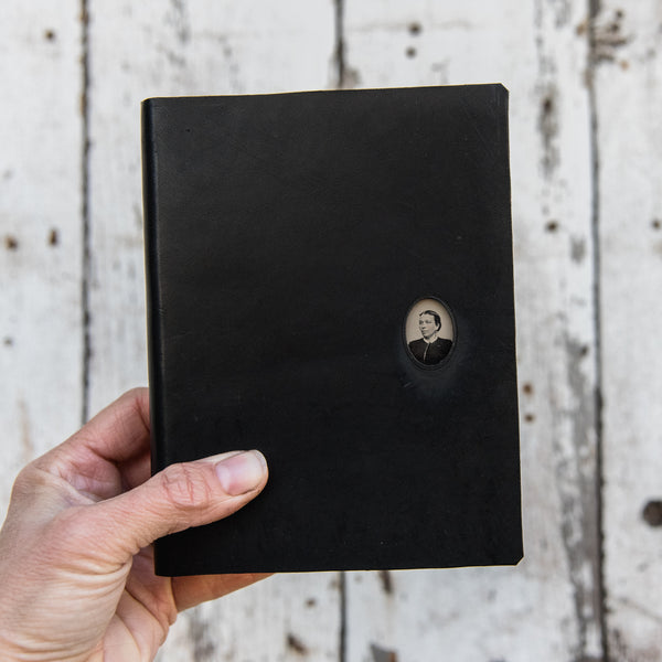 No. 26, Dinah: Standard Hand-Bound Tin Type Journal