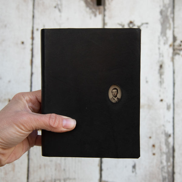 No. 33, Ezra: Standard Hand-Bound Tin Type Journal