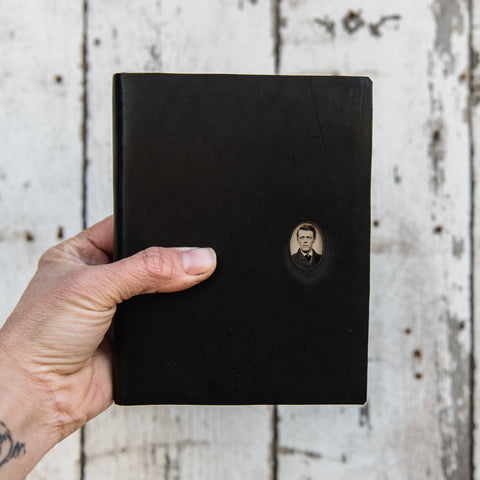 No. 35, Petr: Standard Hand-Bound Tin Type Journal