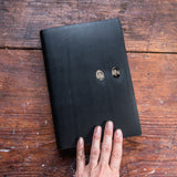 No. 37, Sylvia + Sinclair: Companion Hand-Bound Tin Type Journal (XL)
