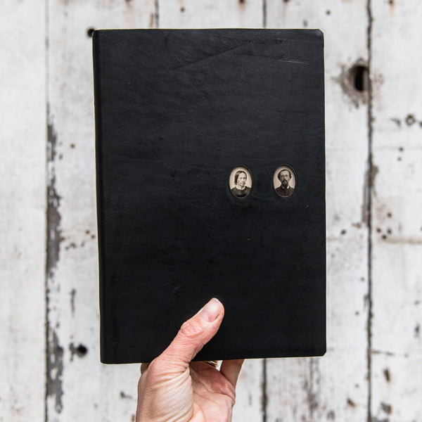 No. 39, Lydia + Joam: Companion Hand-Bound Tin Type Journal