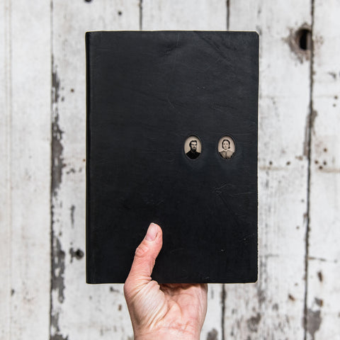No. 40, Moses + Rebecca: Companion Hand-Bound Tin Type Journal