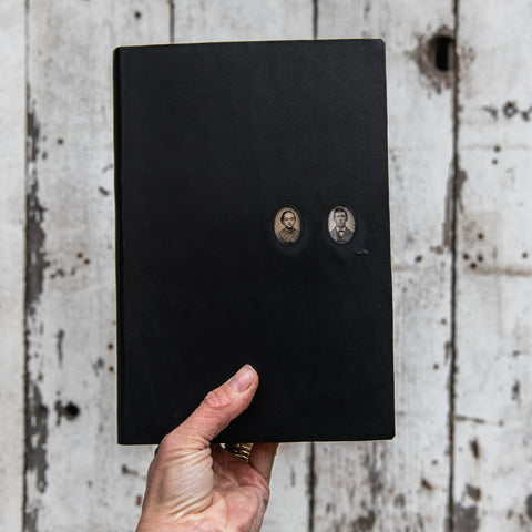 No. 41, Lavinia + Florin: Companion Hand-Bound Tin Type Journal