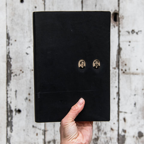 No. 43, Jasper + Aaron: Companion Hand-Bound Tin Type Journal