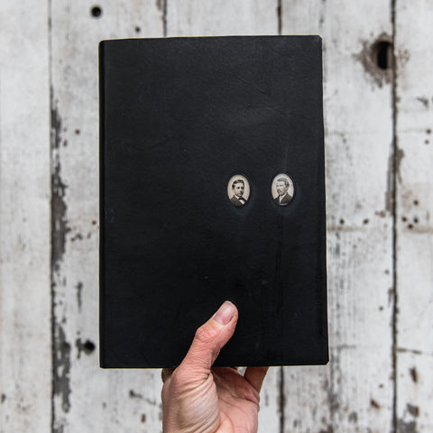 No. 45, James + Horace: Companion Hand-Bound Tin Type Journal