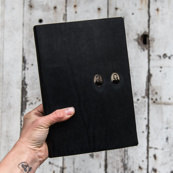 No. 47, Livy + Clothilde: Companion Hand-Bound Tin Type Journal