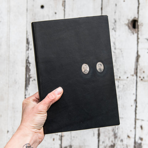 No. 48, Alfie + Eloise: Companion Hand-Bound Tin Type Journal