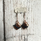 Theodora Book Earrings