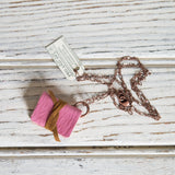 Book Necklace: Sweet Pea