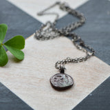 Wood Sorrel Botanical Necklace