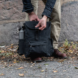 All Black Little Rogue Backpack with Side Pockets