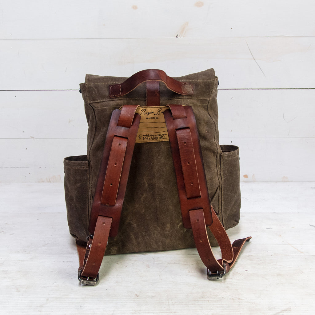The Little Rogue Backpack with Side Pockets