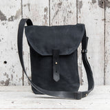 All Black Hunter Satchel
