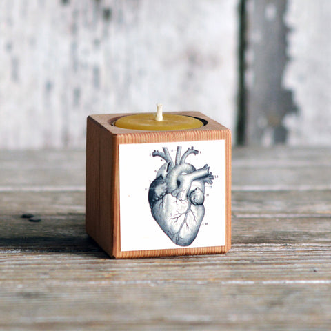 Medical Candleblock: No. 5, Cobblestone Heart