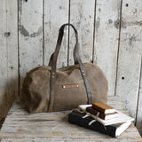 Antique Leather Daybag