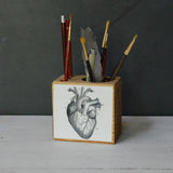 Small Medical Desk Caddy: No. 2, Heart