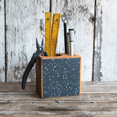 Small Zodiac Desk Caddy: No. 1, Stars