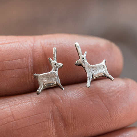 Foundlings Earrings: Alder (Unicorn)