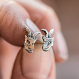 Foundlings Earrings: Ivy (Goat)