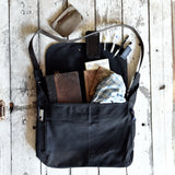 All Black Large Finch Satchel