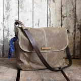 Antique Leather Large Finch Satchel