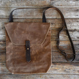 Antique Leather Hunter Satchel