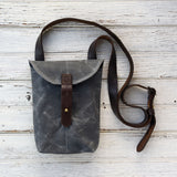 Antique Leather Small Hunter Satchel