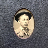 No. 10, Bruno: Medium Hand-Bound Tin Type Journal