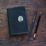 No. 9, Emilio: Medium Hand-Bound Tin Type Journal