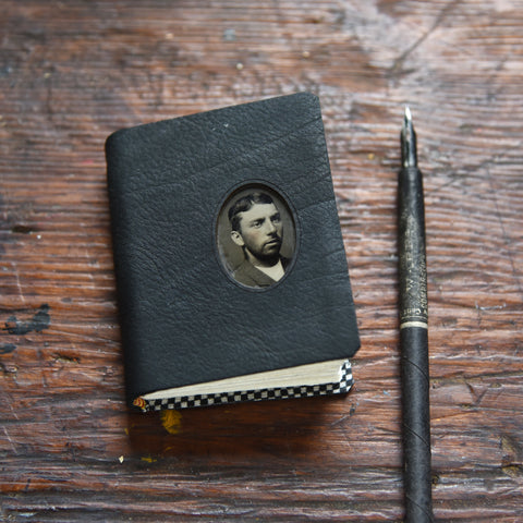 No. 2 Jorge: Small Hand-Bound Tin Type Journal