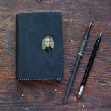No. 8, Lucia: Medium Hand-Bound Tin Type Journal