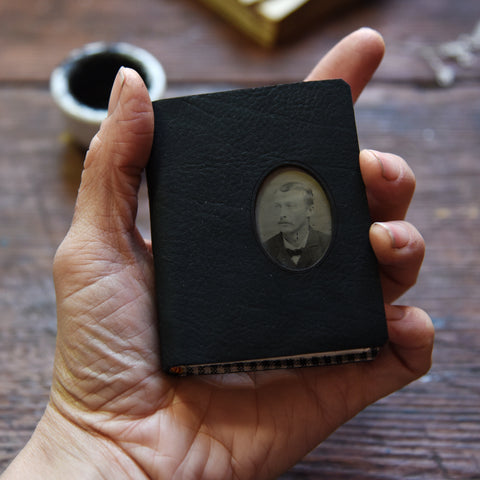 No. 4 Mateo: Small Hand-Bound Tin Type Journal
