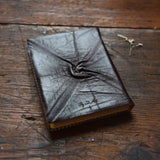 Large Leather Journal with Quote