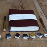 Leather Bordeaux Journal (Some of a Kind)