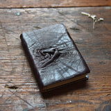 Hand-Bound Leather Journal in Leaf