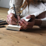 No. 2, Joanna: Mini Hand-Bound Tin Type Journal
