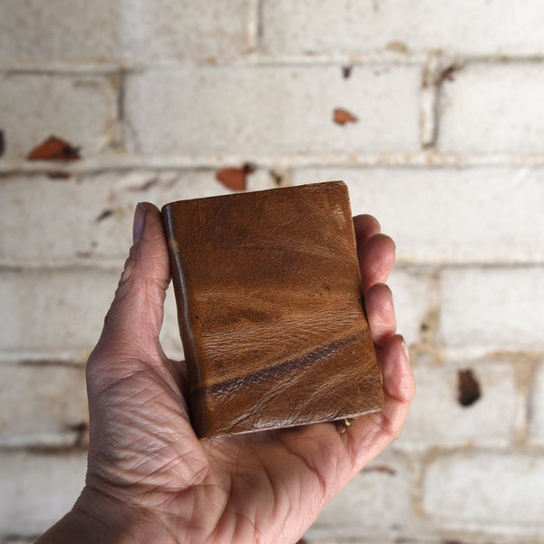 The Soothsayer Hand-Bound Leather Journal