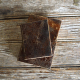 Hand-Bound Leather Journal in Shale