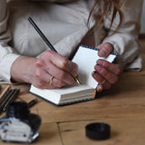 No. 7, Jonas: Mini Hand-Bound Tin Type Journal