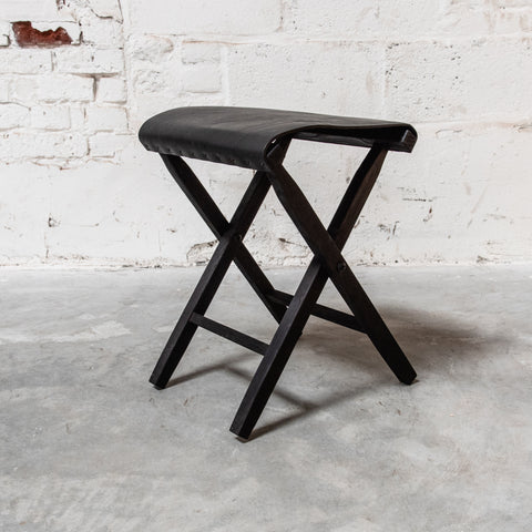 Blackened Lewis and Clark Expedition Stool