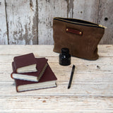 Leather Journal in Tawny Port (Some of a Kind)