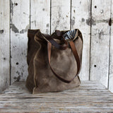 Antique Leather Marlowe Carryall